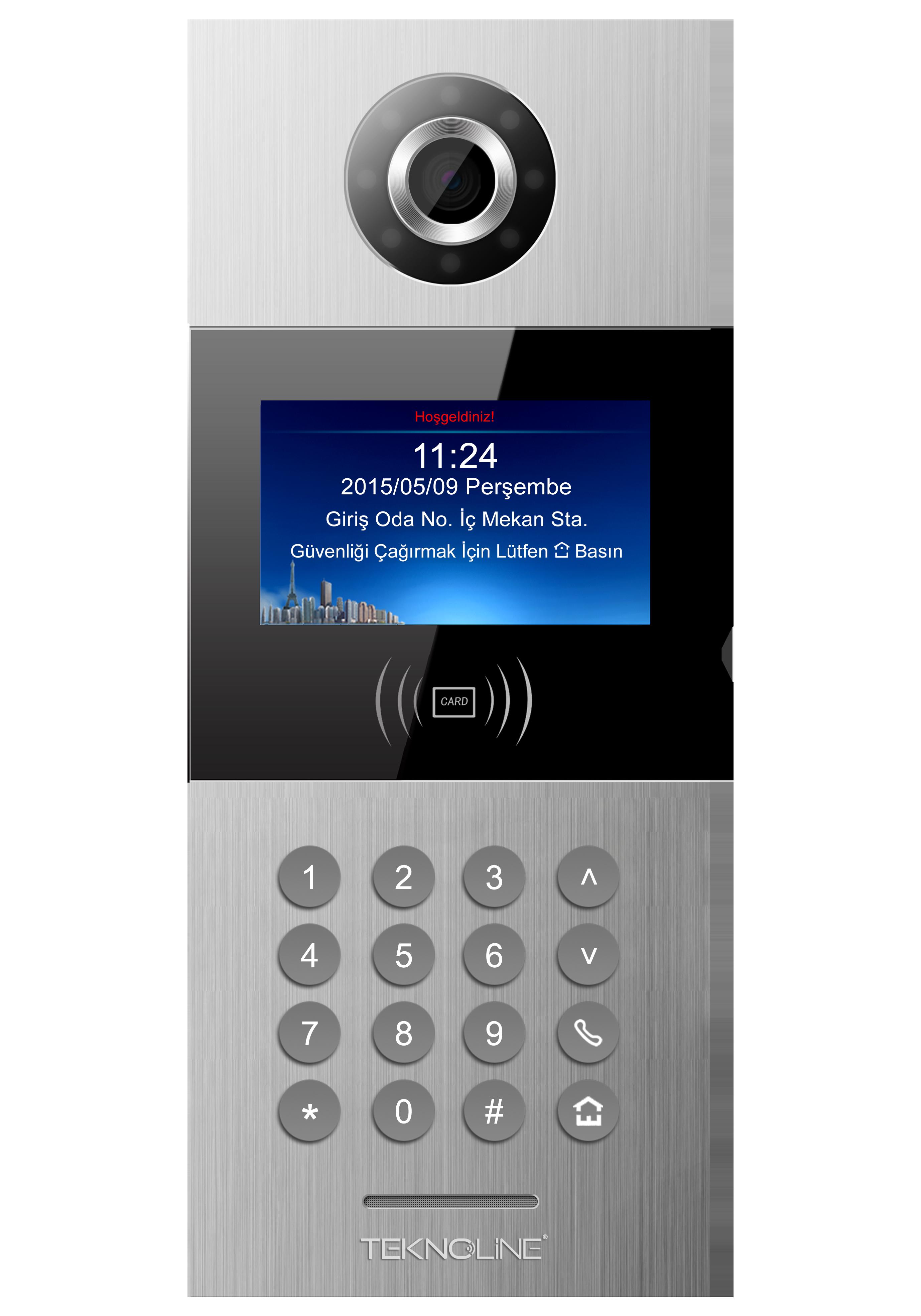 """TP-OS02-IC 4,3"""" Kapı Paneli"""