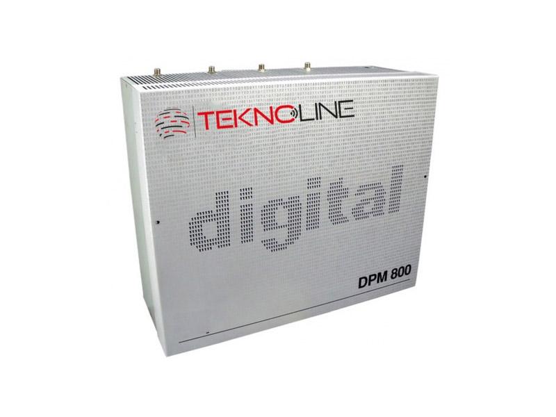 [DPM - 804] 8 Kanal Kompakt Headend, 8xMaster, QPSK/PAL DEMODÜLATÖR