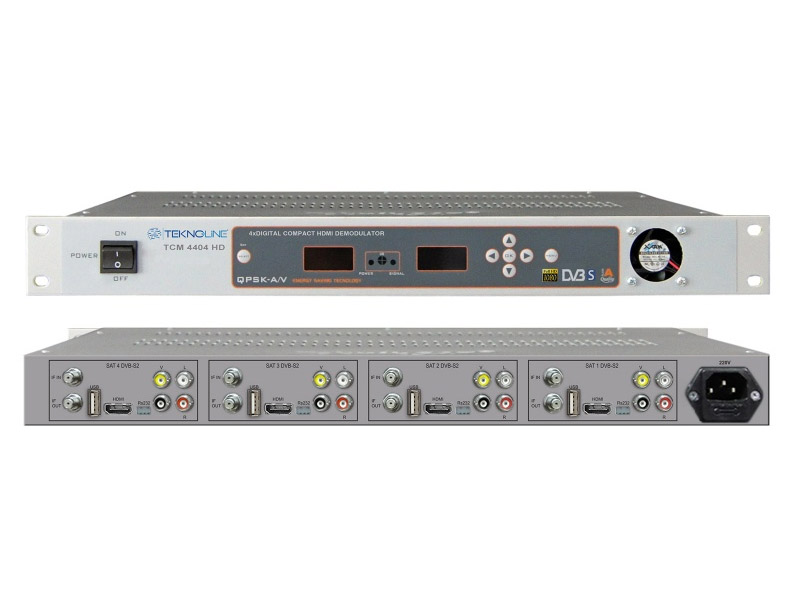 [TCM 4404 HD] TCM 4404 HD Demodülatör