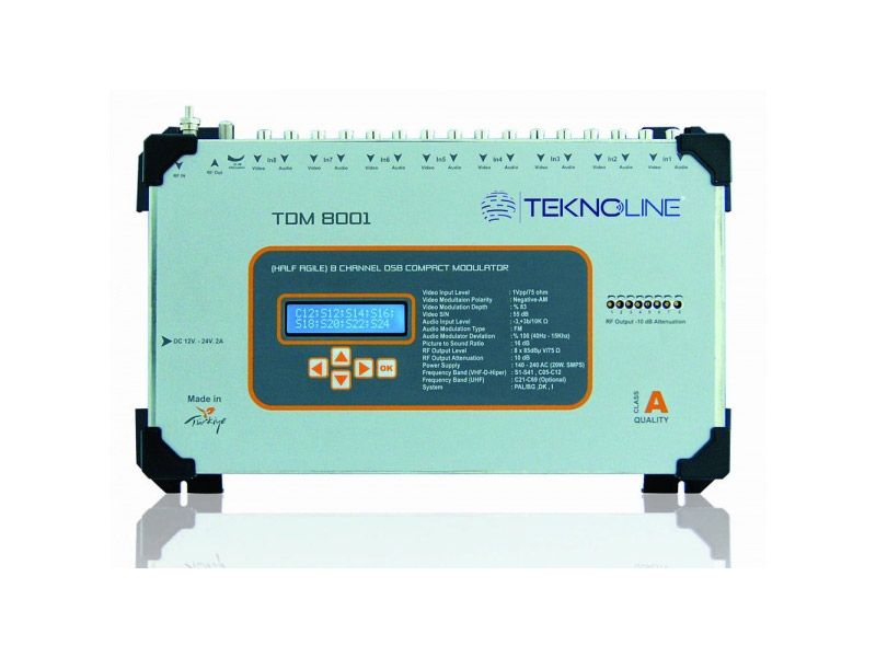 [TDM 8001] TDM 8001 DSB Modülatör