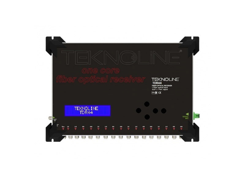 [TDR 41AGC] Fiber Optik Receiver 16 IF + 1 RF