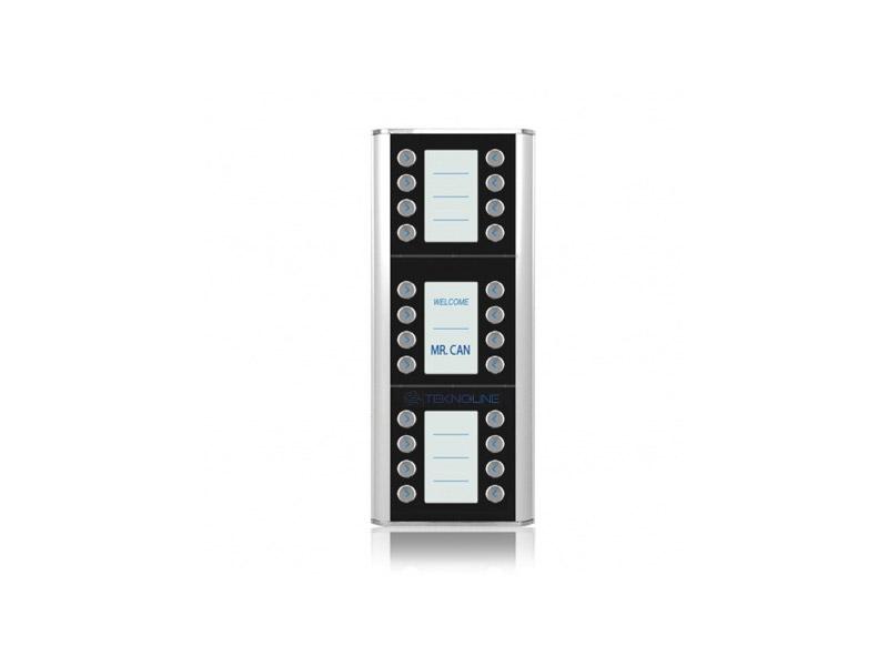 [TEP12/D24] Ekstra Abone Dış Kapı Paneli (24 daire)