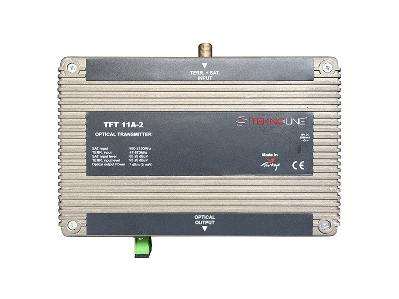 [TFT 11A-2] Fiber Optik Transmitter 21 RF + 1 IF