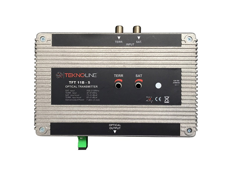 [TFT 11B-5] Fiber Optik Transmitter 1 RF + 1 IF