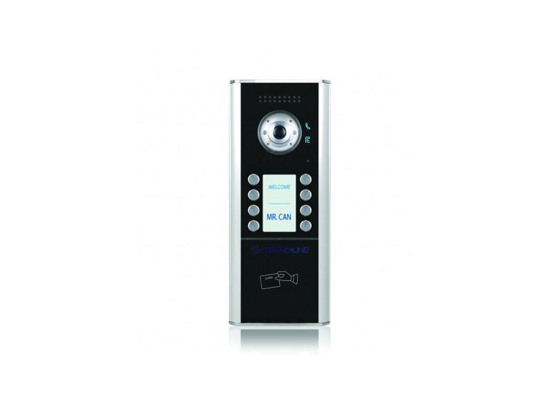 [TMR/12/ID/D8] Renkli Kameralı Dış Kapı Paneli (8 Daire)