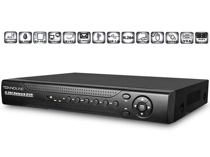 [TRH-2008 HD] IP Kamera Destekli 8 Kanal Kayıt Cihazı